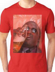 MORPHEUSDRINKINAFORTYINADEATHBASKET Unisex T-Shirt