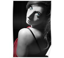 Blue Eyed Girl Poster