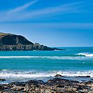 Polzeath Breaker by David Wilkins
