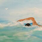 THE SWIMMER II by WhiteDove Studio kj gordon