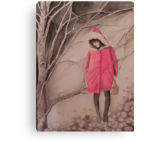 Red hat- Cappuccetto rosso Canvas Print