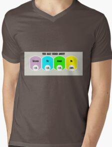 Introduce yourself  Mens V-Neck T-Shirt