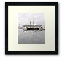 Old and New , Great ways to travel.. Framed Print