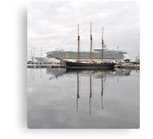 Old and New , Great ways to travel.. Canvas Print