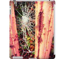 Frosty web iPad Case/Skin