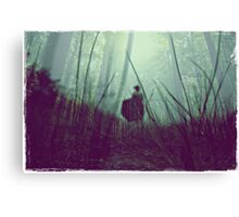 i tried to wash away the stains on my heart but they seem to be incorrigible.  Canvas Print