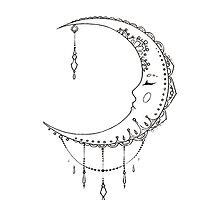 Moon  by bohooutfitters