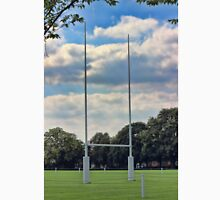 Rugby goal post at Rugby School Unisex T-Shirt