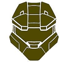 Spartan Helmet Photographic Print