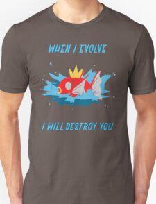 When I evolve - Magikarp T-Shirt