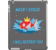 When I evolve - Magikarp iPad Case/Skin