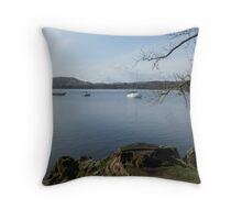 View Of The Lake Throw Pillow