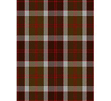 00398 Bannockbane Brown Tartan #1 Photographic Print