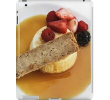 Dessert at The Prado iPad Case/Skin