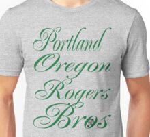 usa portland logo tshirt by rogers bros Unisex T-Shirt