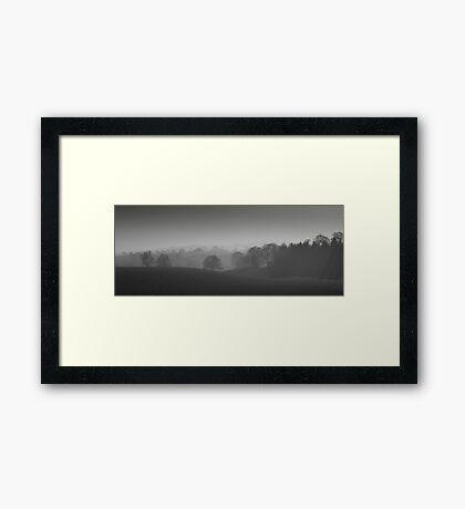 Tranquil Mist  Framed Print