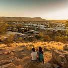 Anzac Hill, Alice Springs, Australia by Pauline Tims