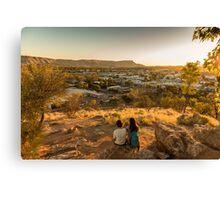 Anzac Hill, Alice Springs, Australia Canvas Print