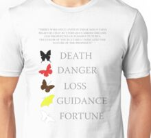 Totem/butterflies meanings - until dawn Unisex T-Shirt