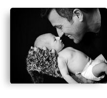Father & Son Canvas Print