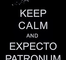 Keep Calm and Expecto Patronum by krishnef