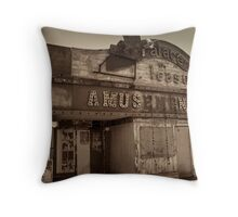 Old Past Throw Pillow