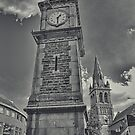 Clock tower by Avril Harris