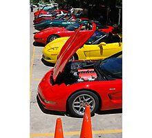 Corvette Event Chicago, IL. III Photographic Print