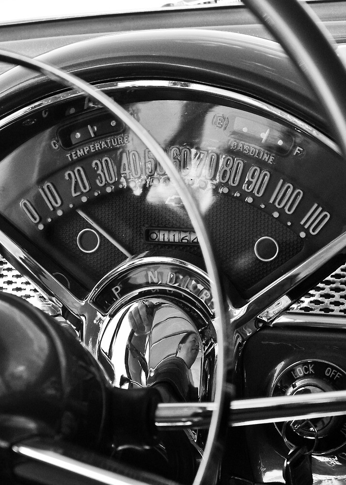 '55 Chevy Bel Air Gauges by Colin Roney