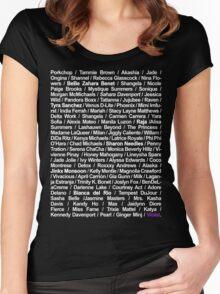 drag queens Women's Fitted Scoop T-Shirt