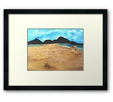 The Star Fish Framed Print