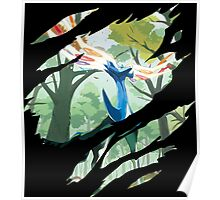 pokemon xerneas anime manga shirt Poster
