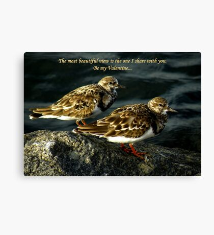 The Most Beautiful View Canvas Print