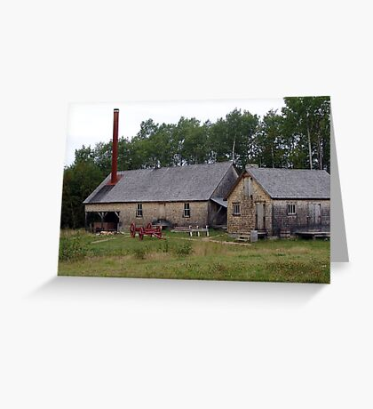 The Sawmill Greeting Card