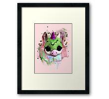 unicorn baby Framed Print