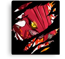 pokemon groudon anime manga shirt Canvas Print