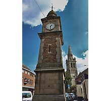 Rugby Clock tower Photographic Print