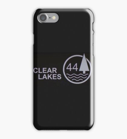 Clear Lakes 44 iPhone Case/Skin