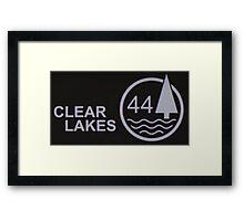 Clear Lakes 44 Framed Print