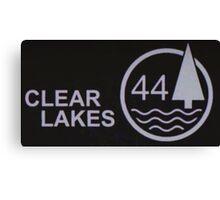Clear Lakes 44 Canvas Print