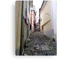 Lisbon Street Canvas Print