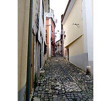 Lisbon Street Photographic Print