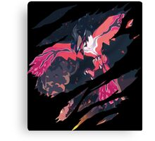 pokemon yveltal anime manga shirt Canvas Print
