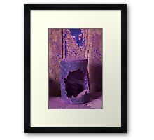 Rusted Tin Can Framed Print