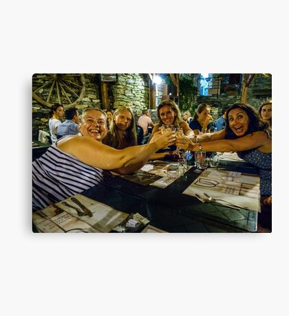 All for one and ....  Canvas Print