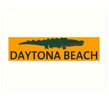 Daytona Beach. Art Print