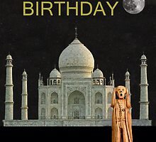 The Scream World Tour India Taj Mahal Happy Birthday by Eric Kempson