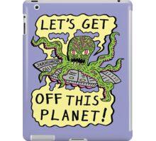 Alien UFO Escape iPad Case/Skin