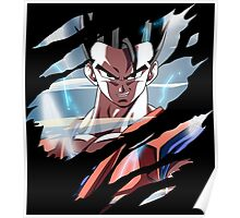dragon ball z mystic gohan anime manga shirt Poster