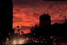 Sunset in LA by Marianna Tankelevich